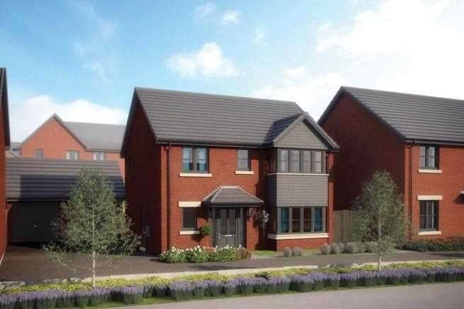 4 Bedrooms Detached House for sale in The Nutford, Oaktree Grange, Clayton Le Woods, Leyland