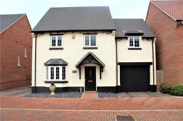 4 Bedrooms Detached House for sale in Red Cross Way, Weddington, Nuneaton, Warwickshire