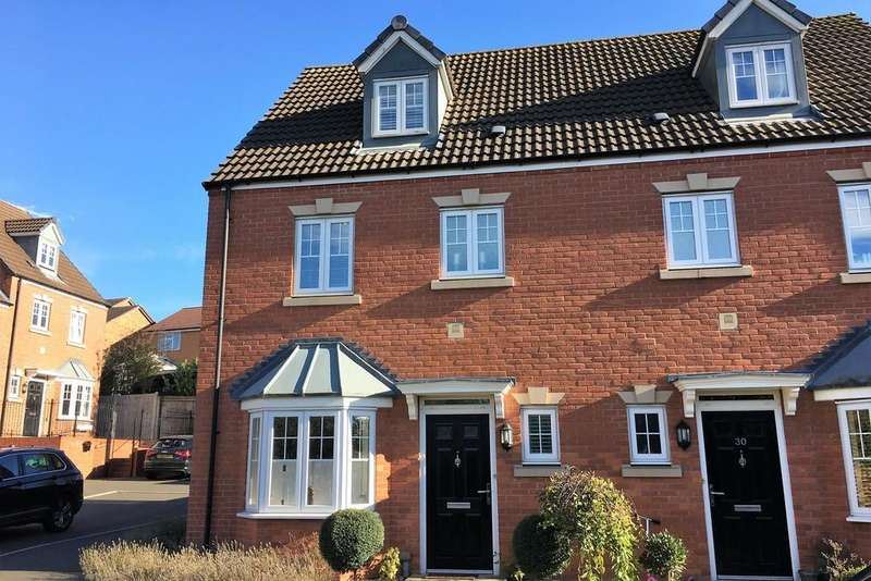 4 Bedrooms Town House for sale in Kipling Drive, Melton Mowbray