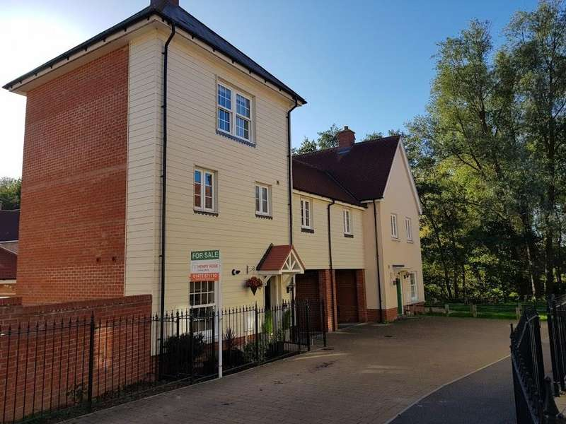 4 Bedrooms Town House for sale in River Bank Walk, Colchester CO1