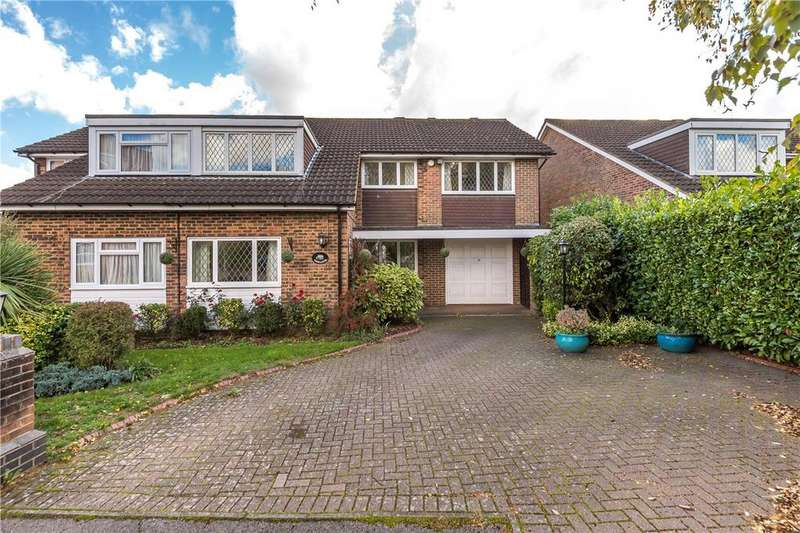 4 Bedrooms Semi Detached House for sale in Monks Close, Redbourn, St. Albans, Hertfordshire