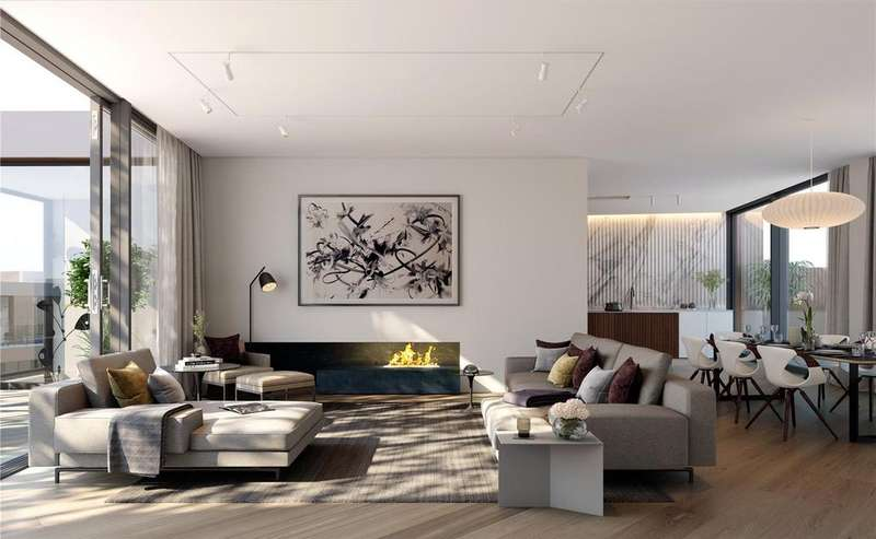 2 Bedrooms Flat for sale in Television Centre, Wood Lane, London W12