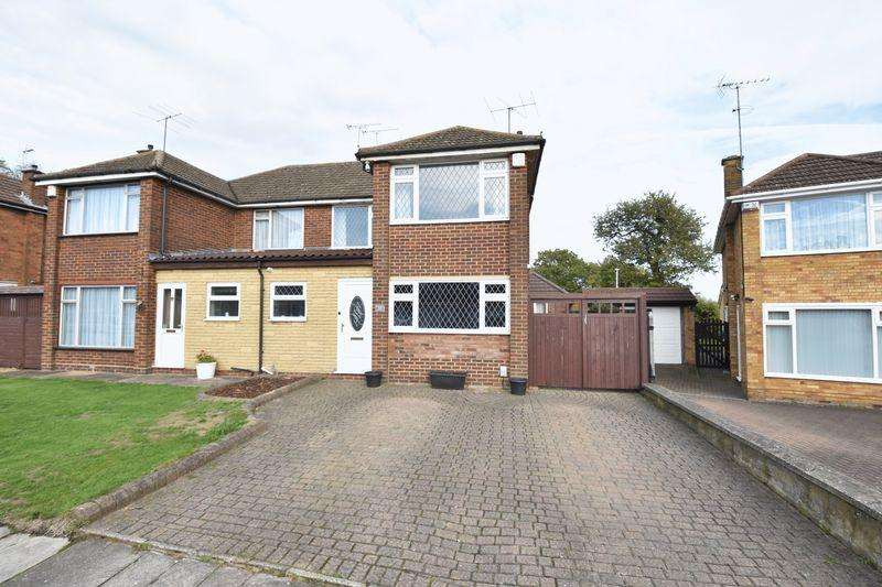 3 Bedrooms Semi Detached House for sale in Forrest Crescent, Luton