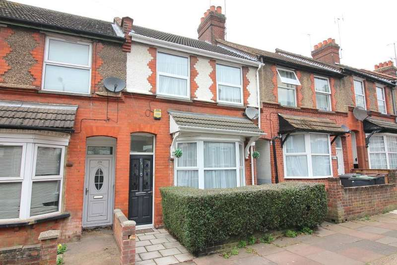 2 Bedrooms Terraced House for sale in High Town Road, Luton, Bedfordshire, LU2 0BZ