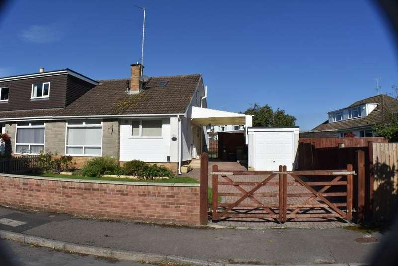 3 Bedrooms Semi Detached Bungalow for sale in Brookside Drive, Frampton Cotterell