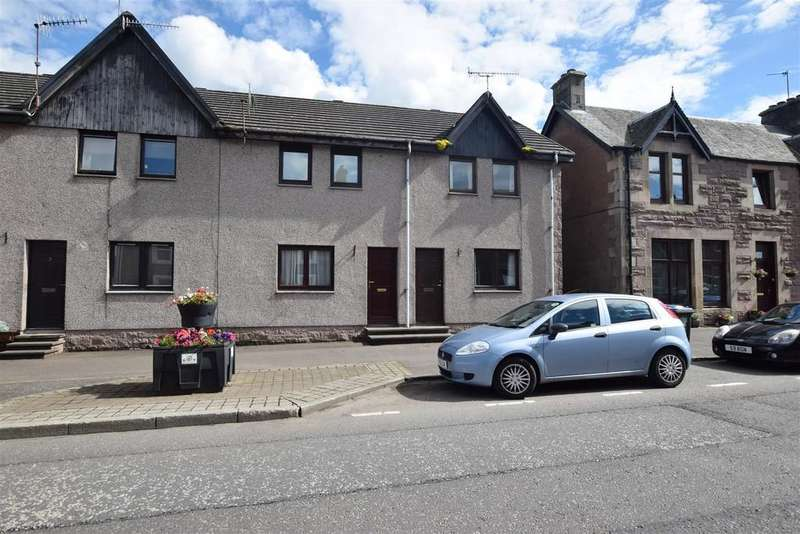 2 Bedrooms End Of Terrace House for sale in Clincart Cottages, Moray Street, Blackford