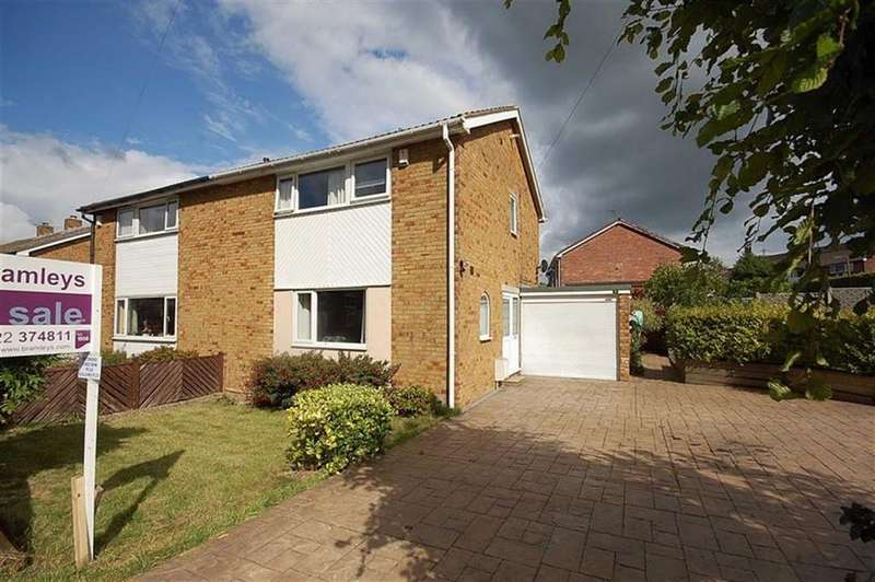 3 Bedrooms Semi Detached House for sale in Whitwell Green Lane, Elland, HX5