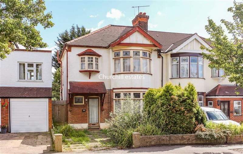 3 Bedrooms Semi Detached House for sale in Wordsworth Avenue, South Woodford