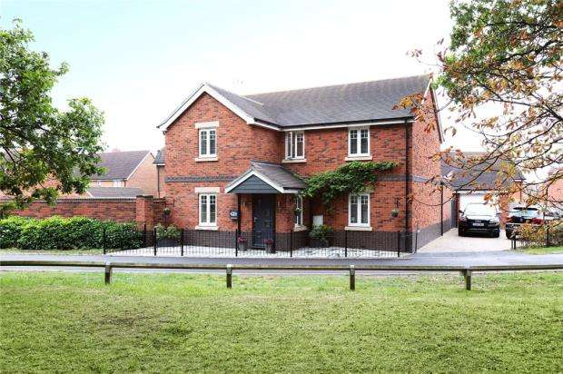 4 Bedrooms Detached House for sale in Libra Crescent, Wokingham, Berkshire