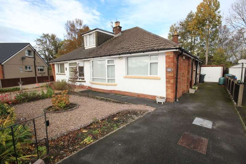 2 Bedrooms Semi Detached Bungalow for sale in Dorchester Road, Garstang, Preston, PR3
