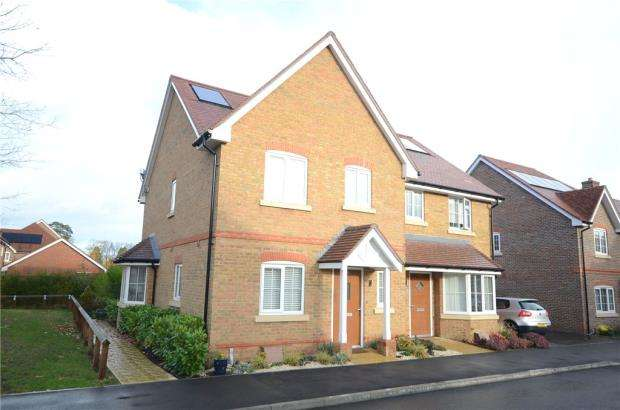 3 Bedrooms Semi Detached House for sale in Cammell Close, Wokingham, Berkshire