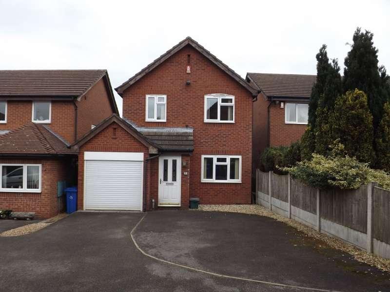 3 Bedrooms Detached House for sale in 7 Saffron Close, Meir Park, Stoke-On-Trent, Staffordshire