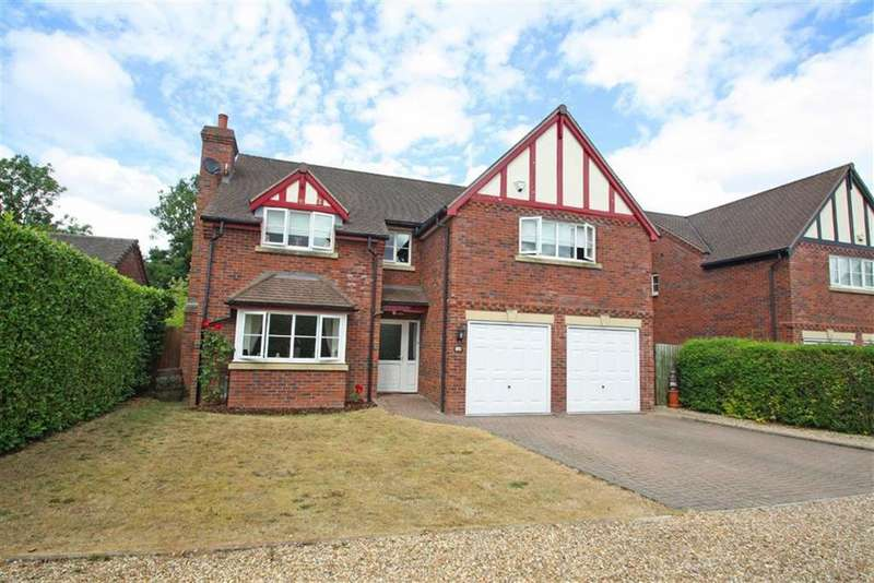 4 Bedrooms Detached House for sale in Causeway Close, WELLINGTON, Wellington Hereford, Herefordshire