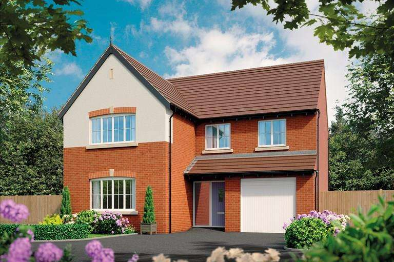 4 Bedrooms Detached House for sale in Plot 1, The Alder, Oteley Road, Shrewsbury, SY2 6QS