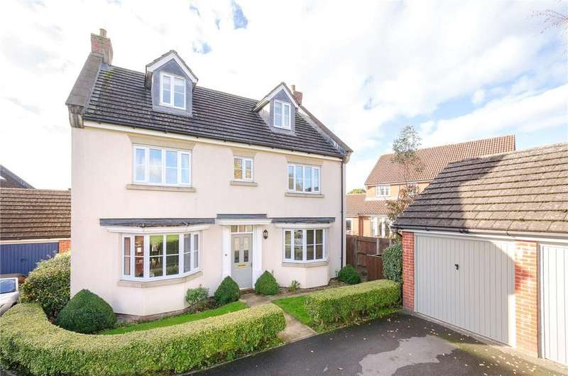 5 Bedrooms Detached House for sale in Fruitfields Close, Devizes, Wiltshire, SN10