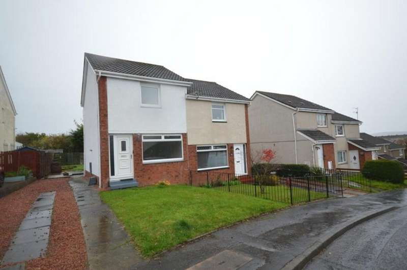 2 Bedrooms Semi Detached House for sale in Hazel Avenue, Dumbarton G82 5BW
