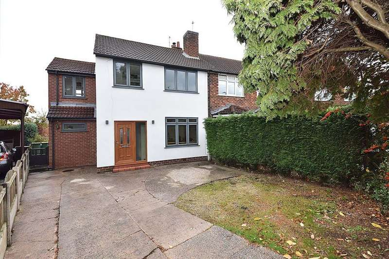 4 Bedrooms Semi Detached House for sale in Byrons Lane, Macclesfield