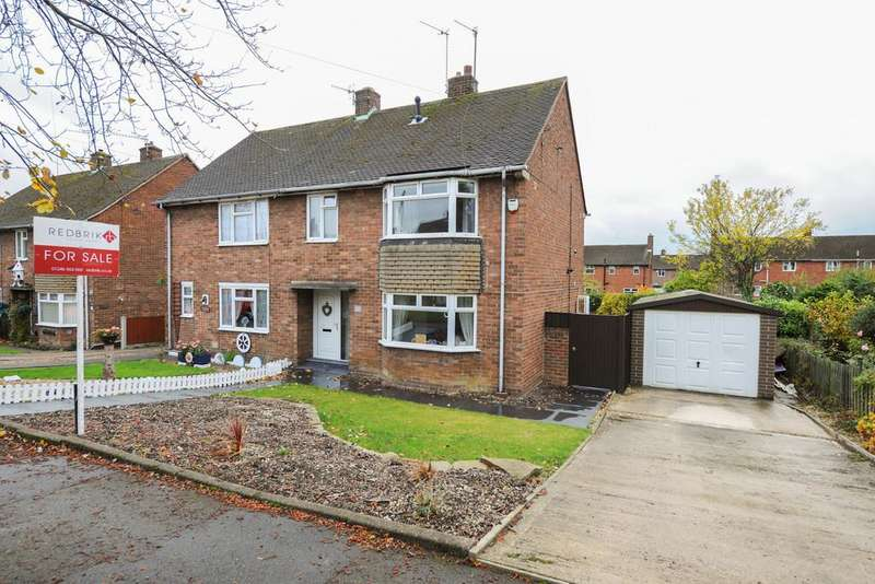3 Bedrooms Semi Detached House for sale in St. Johns Road, Chesterfield