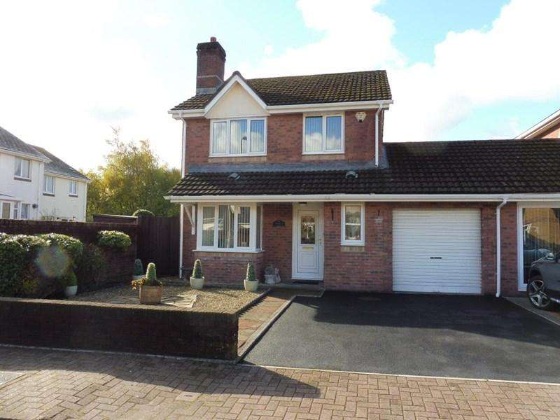 3 Bedrooms Link Detached House for sale in Trevithick Gardens, Merthyr Tydfil