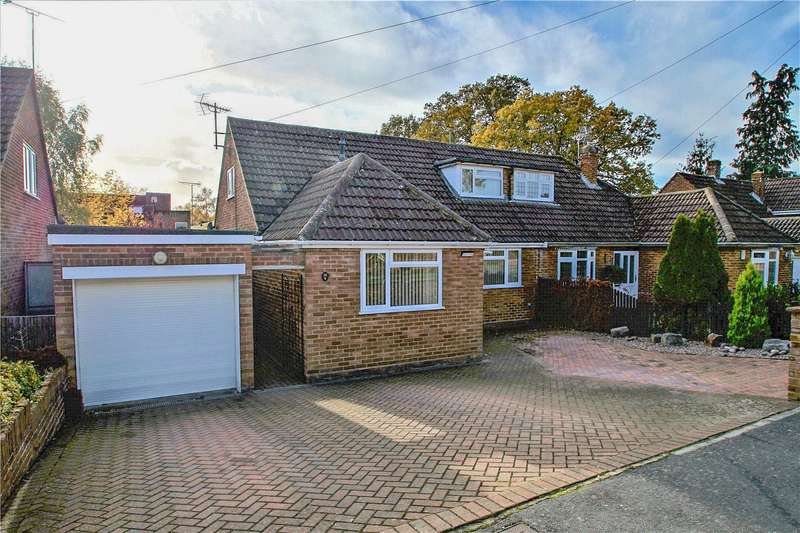 4 Bedrooms Semi Detached House for sale in Cedars Close, Sandhurst, Berkshire, GU47