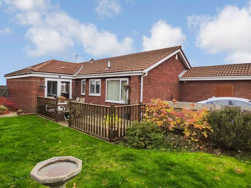 3 Bedrooms Bungalow for sale in Elsdon Close, Oakerside Park, Peterlee, Durham, SR8 1NE