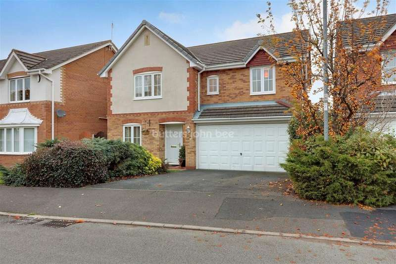 5 Bedrooms Detached House for sale in Wentworth Grove, Winsford