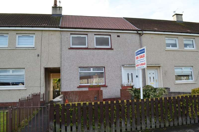 2 Bedrooms Terraced House for sale in BRAEHEAD DRIVE, BELLSHILL ML4