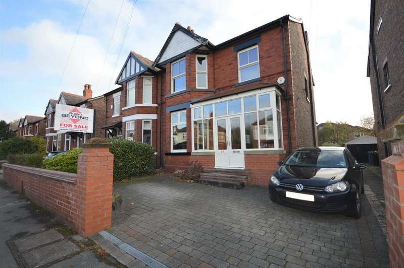 4 Bedrooms Semi Detached House for sale in Cavendish Road, Heaton Mersey