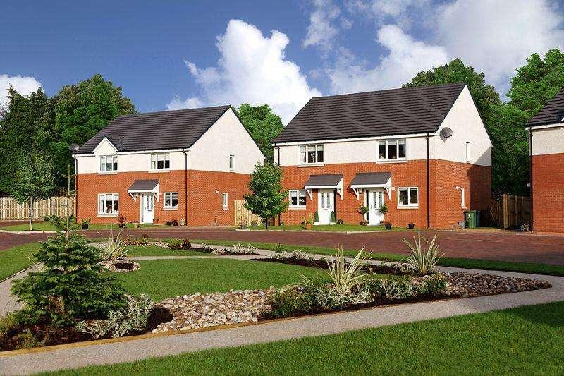 3 Bedrooms Semi Detached House for sale in Millburn Gardens, Clackmannan