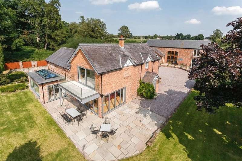 5 Bedrooms Detached House for sale in Mill Pool House and Lakeside Barn, Oulton, CW6 9BH