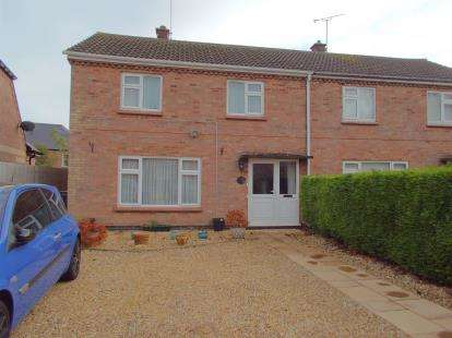 3 Bedrooms Semi Detached House for sale in Knights Close, Billesdon, Leicester, Leicestershire