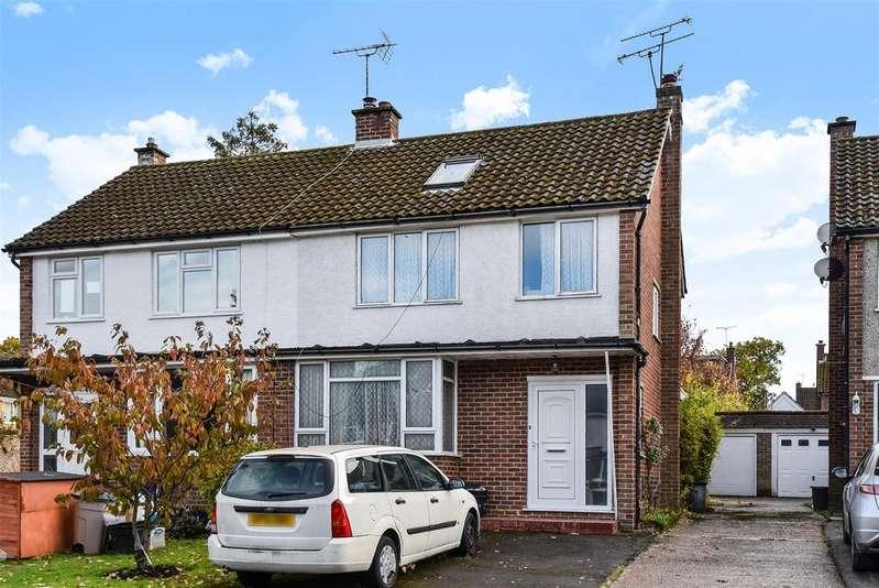 4 Bedrooms Semi Detached House for sale in Elgar Avenue, Crowthorne, Berkshire RG45 6QP
