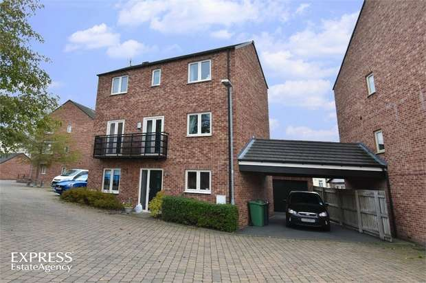 5 Bedrooms Detached House for sale in Darby Way, Allerton Bywater, Castleford, West Yorkshire