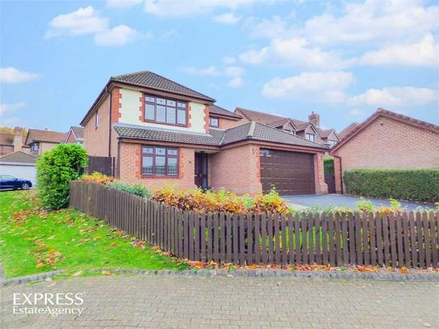 4 Bedrooms Detached House for sale in Broadfields, Runcorn, Cheshire
