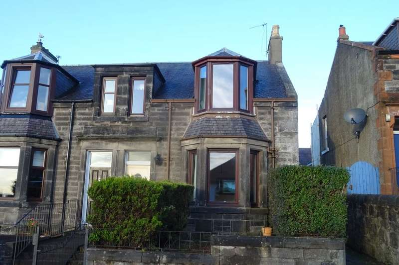 3 Bedrooms Semi Detached House for sale in Townhill Road, Dunfermline, KY12