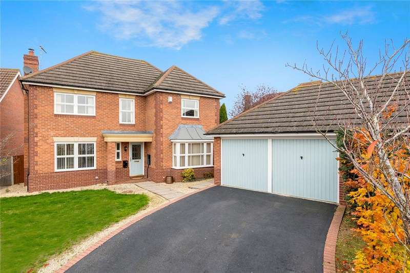 4 Bedrooms Detached House for sale in Vanguard Court, Sleaford, Lincolnshire, NG34