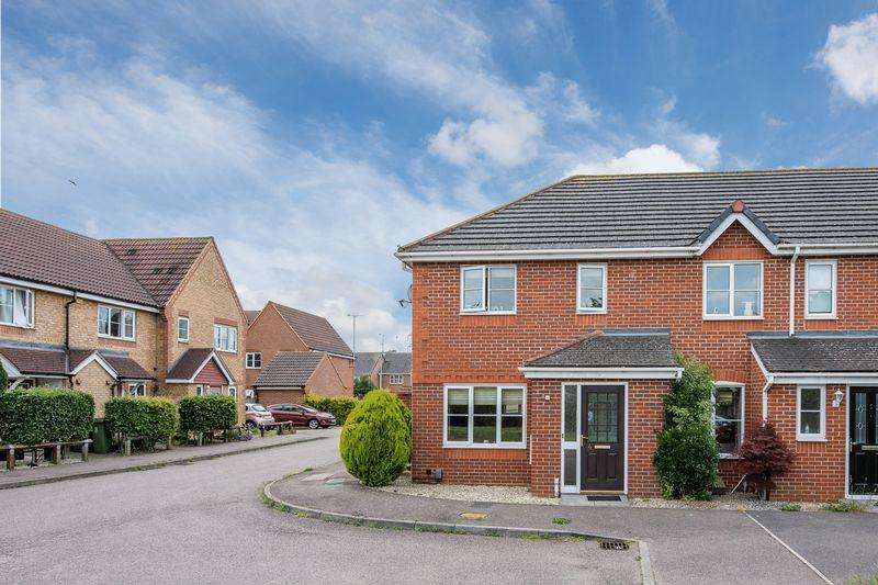 3 Bedrooms End Of Terrace House for sale in Burrell Close, Aylesbury