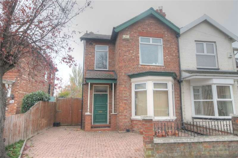 4 Bedrooms Semi Detached House for sale in Eastbourne Road, Darlington, DL1