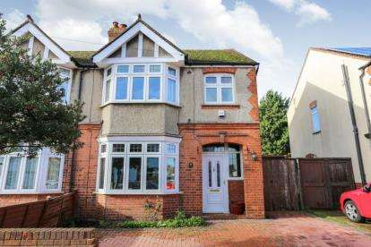 3 Bedrooms Semi Detached House for sale in Felix Avenue, Luton, Bedfordshire