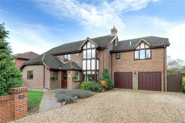 5 Bedrooms Detached House for sale in Wagstaffe Close, Bedford