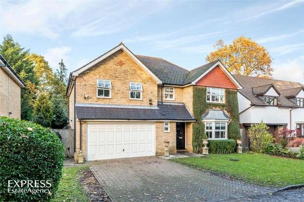 5 Bedrooms Detached House for sale in Holm Grove, Uxbridge, Greater London