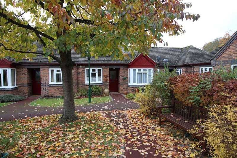 2 Bedrooms Terraced Bungalow for sale in Badger Court, Loughborough
