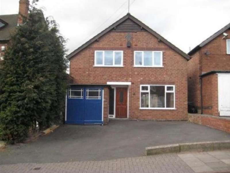 3 Bedrooms Detached House for sale in ACFOLD ROAD, HANDSWORTH WOOD B21