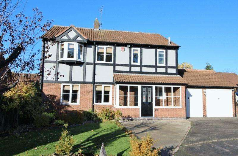 4 Bedrooms Detached House for sale in CLIPSTONE GARDENS, OAKWOOD