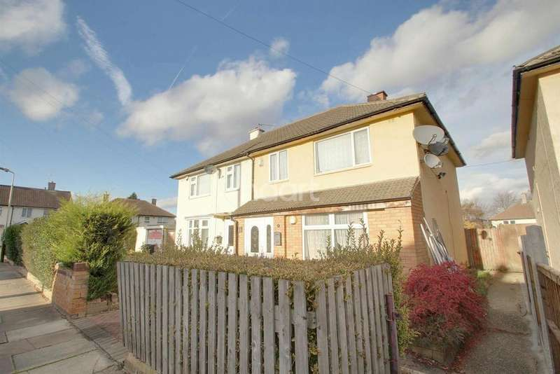 4 Bedrooms Semi Detached House for sale in Felstead Road, Leicester