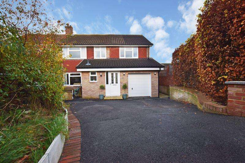 4 Bedrooms Semi Detached House for sale in Pine Walk, Uckfield, TN22