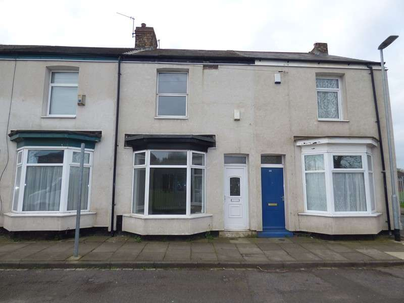 2 Bedrooms Property for sale in Melbourne Street, Stockton, Stockton-on-Tees, Cleveland, TS18 1PB