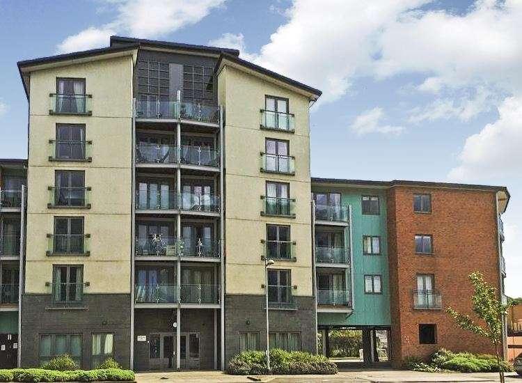 2 Bedrooms Apartment Flat for sale in Worsdell Drive, Quayside, Gateshead, Tyne & Wear, NE8 2AZ