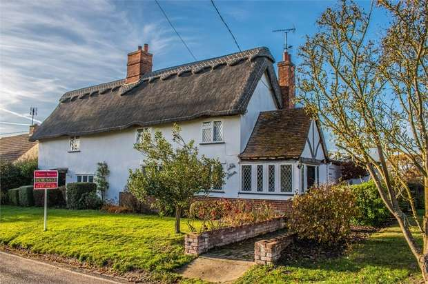 4 Bedrooms Detached House for sale in Finchingfield, Braintree, Essex