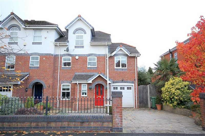 4 Bedrooms Town House for sale in Cloister Road, Stockport, Cheshire, SK4